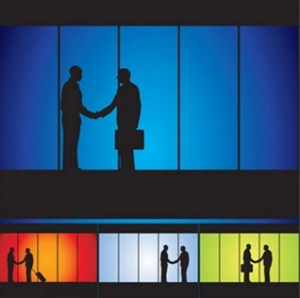Image of shaking hands